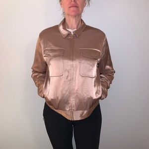 Aritzia Jackets & Coats - Little Moon Satin Bomber